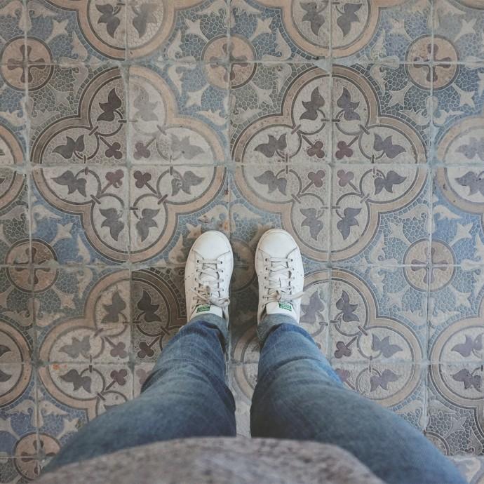 tiled floor Portugal