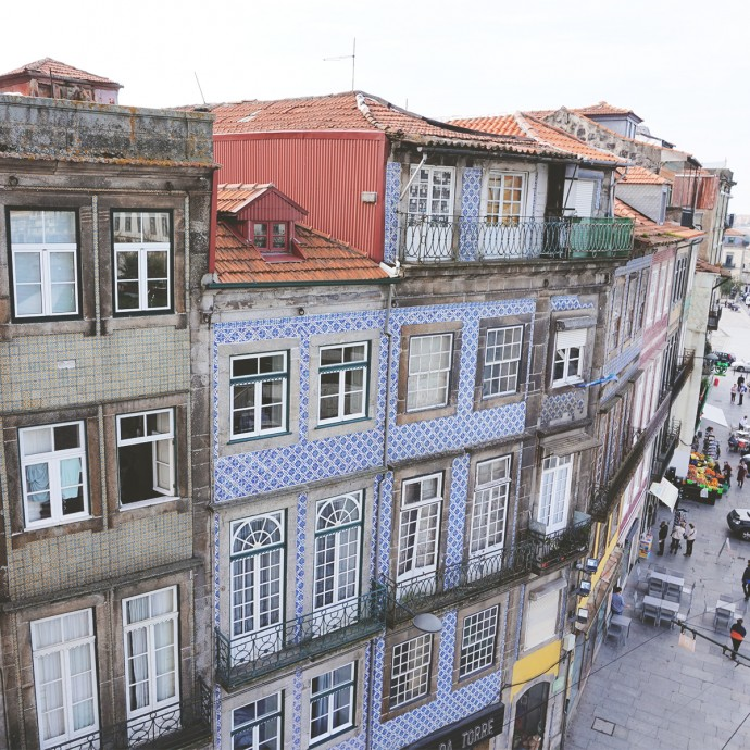 View from Clergios Porto