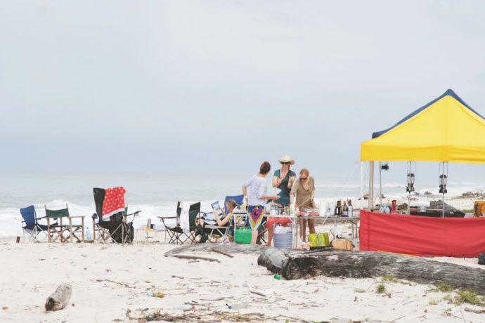 camping beach gabon